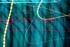 streszczenie kolorowe linii Energia wolty Zdjęcia Stock
