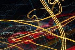 streszczenie kolorowe linii Energia wolty Obraz Royalty Free