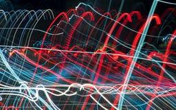 streszczenie kolorowe linii Energia wolty Fotografia Royalty Free