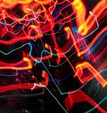 streszczenie kolorowe linii Energia wolty Zdjęcie Royalty Free