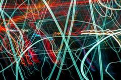 streszczenie kolorowe linii Energia wolty Zdjęcie Stock