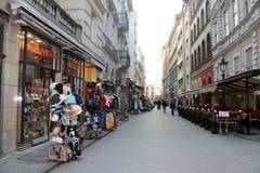 Stret i Budapest Fotografering för Bildbyråer