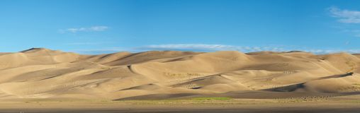 The Stretch of Great Sand Dunes Stock Photo