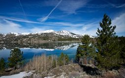 Stretch of June Lake Royalty Free Stock Images