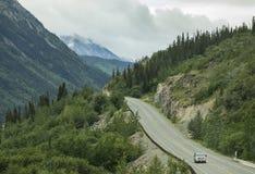 Scenic Klondike Highway Stock Photography
