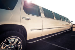 Stretch limo. Luxury stretch limo service transportation with white background Royalty Free Stock Images
