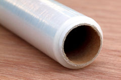 Stretch wrapping film Royalty Free Stock Photos