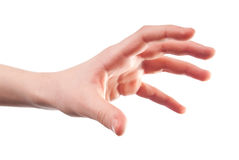 Stretched hand Stock Photography