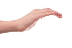 Stretched hand Royalty Free Stock Photography