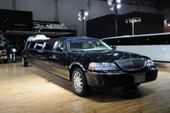 Stretched Lincoln limousine Royalty Free Stock Images