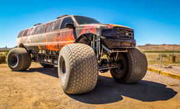 Stretched Monster Truck Stock Images