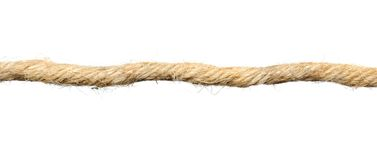 Stretched Rope Royalty Free Stock Photo
