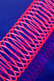 Stretched slinky Stock Image