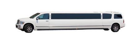 Stretched SUV limo Royalty Free Stock Photography