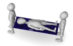 Stretcher Royalty Free Stock Photo