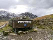 Stretcher box for Mountain Rescue, Lake District Royalty Free Stock Photography