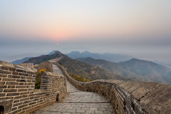 Stretches of the great wall Royalty Free Stock Photos