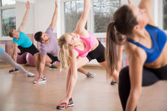 Stretching body Royalty Free Stock Photo