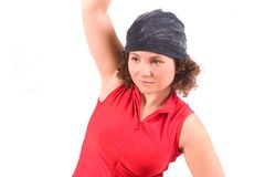 Stretching after exercise Stock Photography