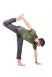 Stretching exercise Stock Image