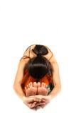 Stretching exercise Stock Photo