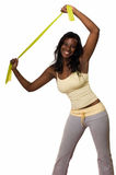 Stretching exercises Royalty Free Stock Image