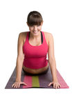 Stretching Girl Stock Images