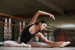Stretching gymnastics stock photography