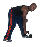 Stretching and Lifting stock image