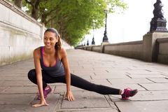 Stretching muscles Stock Photos