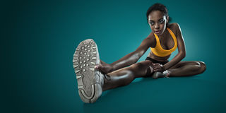 Stretching. Stock Images