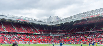 Stretford end (Old Trafford) stock photos