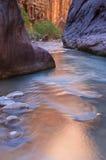 Stretti del fiume del Virgin Immagini Stock