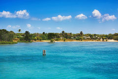 Stretti Queensland Australia di Torres dell'isola di giovedì immagine stock