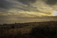 Stretto di alba di Juan de Fuca immagini stock