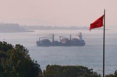 Stretto di Bosphorus immagine stock