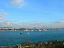 Stretto di Bosphorus, Costantinopoli, Turchia Immagini Stock