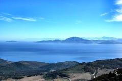 Stretto di Gibilterra Fotos de Stock Royalty Free