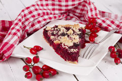Streusel cake Stock Images