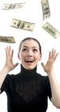 Streuen mit Geld Stockbilder