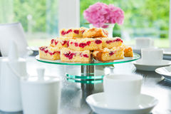 streusel поленики торта стоковое изображение