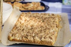 Streusel cake Royalty Free Stock Photography