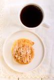 Streusel pumpkin sweet rolls Royalty Free Stock Images