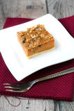 Streusel squash dessert Stock Photography