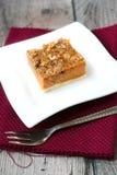 Streusel squash dessert Stock Photography