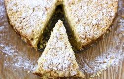 Streuselkuchen: Tysk smulakaka Royaltyfri Foto