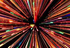 Striare gli indicatori luminosi Fotografia Stock Libera da Diritti