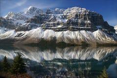 striated гора озера смычка Стоковое Изображение RF