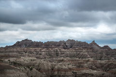 Striations at Badlands National Park Stock Photos