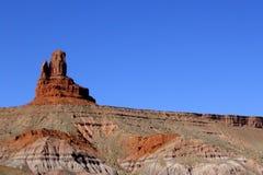 Striations do vale do monumento Fotos de Stock Royalty Free